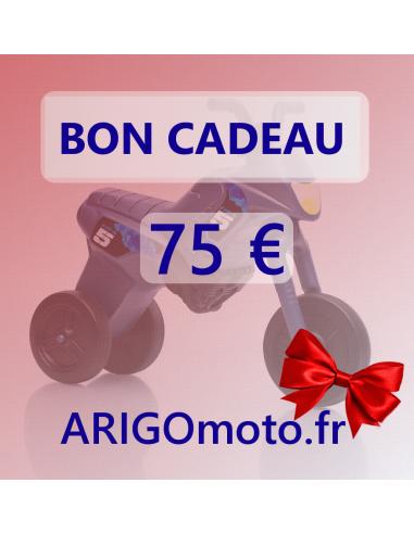 BON CADEAU 75 €