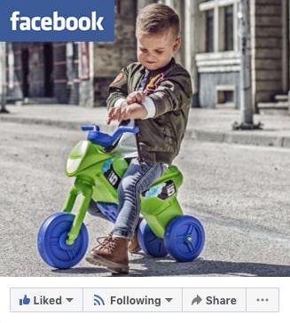 Arigomoto tricycle sur facebook